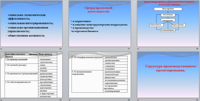 Общие основы проектирования