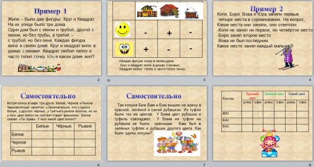 Пример табличного решения задачи помощь в решении задач pascal