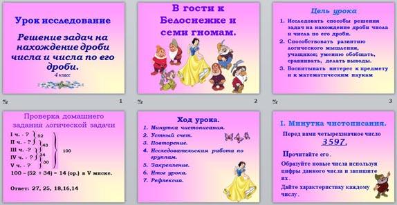 nahozhdenie-drobi-ot-chisla-urok-i-prezentatsiya-4-klass-himii-klass-tema