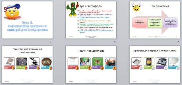 презентация на тему информационные процессы