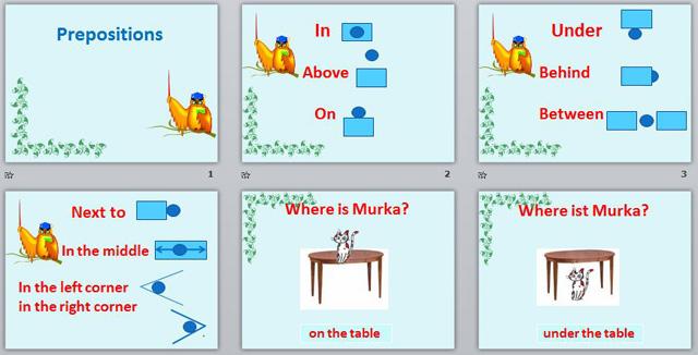 презентация preposition