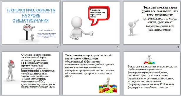 Презентация для учителей Технологическая карта урока истории и обществознания
