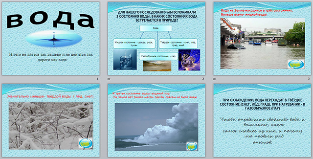 Презентация по географии по теме Вода