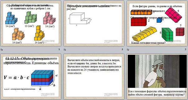 mudrosti-schastya-obem-tela-prezentatsiya-po-matematike-5-klass-iskusstvo