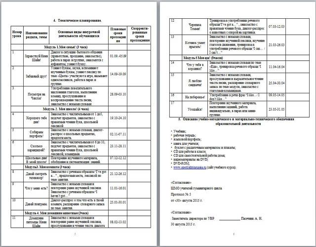 Рабочая программа внеурочной деятельности по английскому языку Занимательный английский
