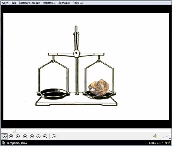 Видеоурок по физике Закон Архимеда