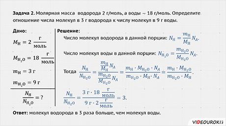 Мкт физика задачи и решения метод решения задачи распределения ресурсов