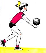 ловить мяч в волейболе