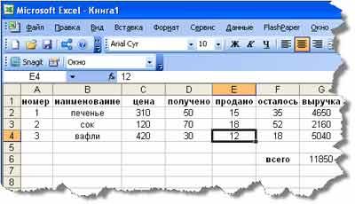 зачем нам использовать электронные таблицы excel